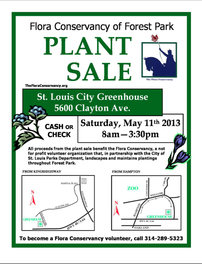 Buy flowers - support Forest Park! | Brightside St  Louis